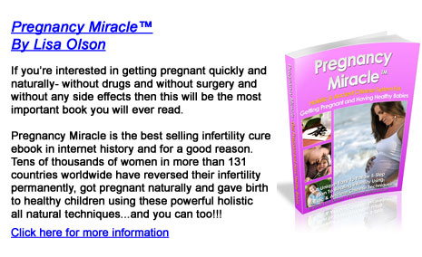 To get the FACTS on exactly how to get pregnant 100% naturally and give ...